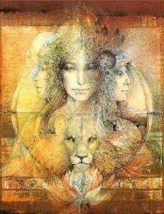 animal woman