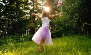 child sun wand